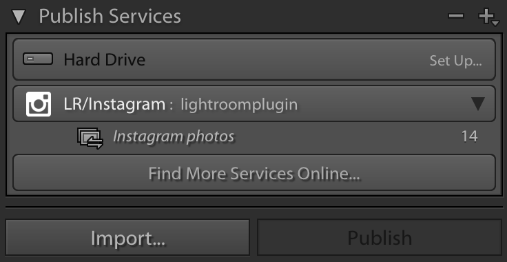 publish Direct from Lightroom to Instagram Handy Plug in